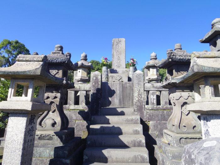 大山綱良墓(南洲墓地・鹿児島市)