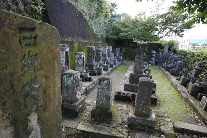 西郷家の墓(鹿児島市)