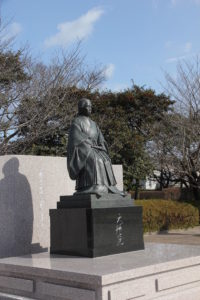 天璋院篤姫像(鹿児島市)