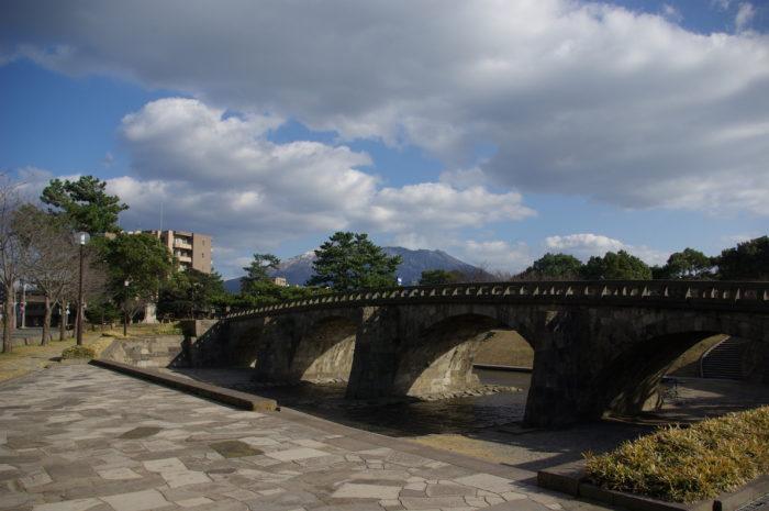 石橋記念公園―高麗橋
