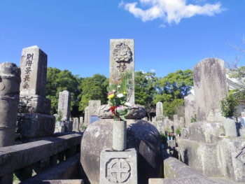 桂久武墓(南洲墓地・鹿児島市)