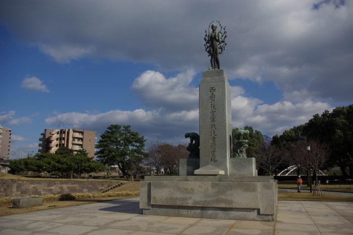 西南の役官軍戦没者慰霊塔(鹿児島市)
