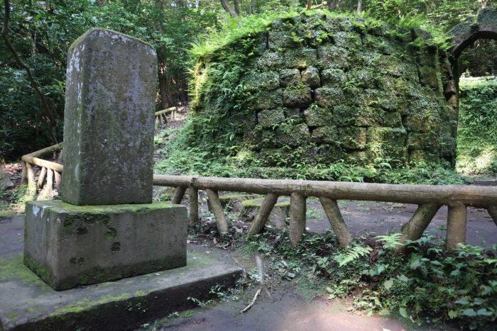 寺山炭窯跡記念碑(鹿児島市)