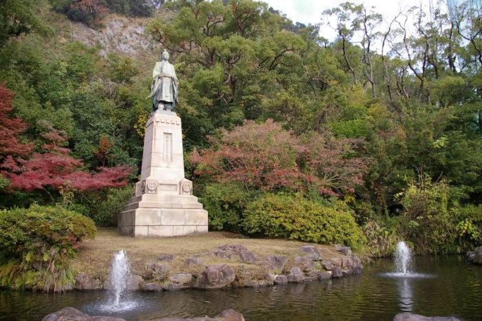 島津久光銅像(鹿児島市)