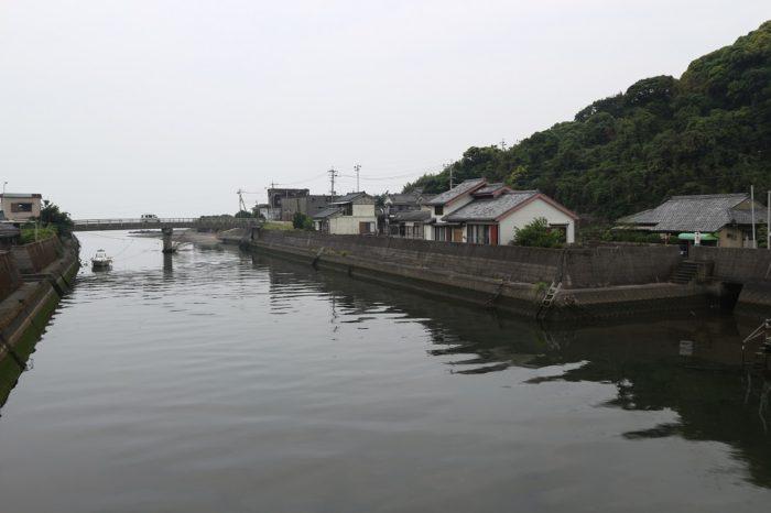 高須港(西郷南洲翁最後之宿泊地碑)